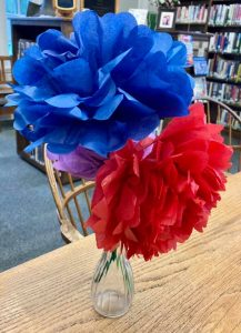 May's Craft: Tissue Paper Flowers