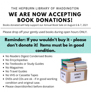 Book Donations!