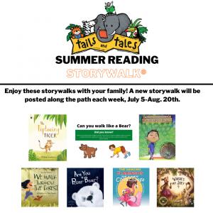 Summer Reading Storywalks