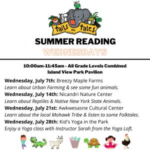 Summer Reading Wednesdays